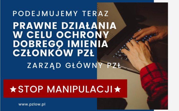 Polski Związek Łowiecki wzywa do sprostowania nieprawdziwych informacji